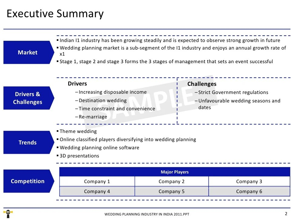 Project Summary Report Template Project Summary Report Templatenew
