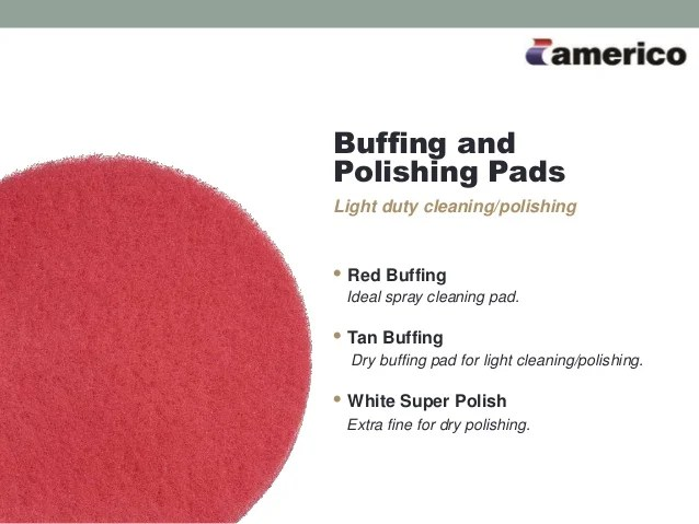 Floor Polishing Pad Color Chart wwwpicswe