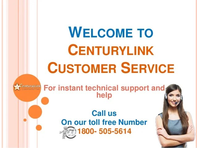 call centurylink technical support