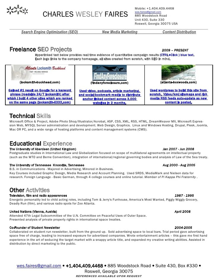 resume postings - Towerssconstruction