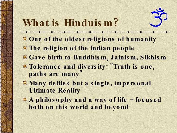 Define Meaning Of Hindi What Is Hinduism