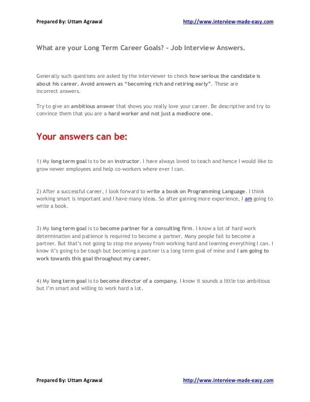 Long term and short term career goals essay nursing