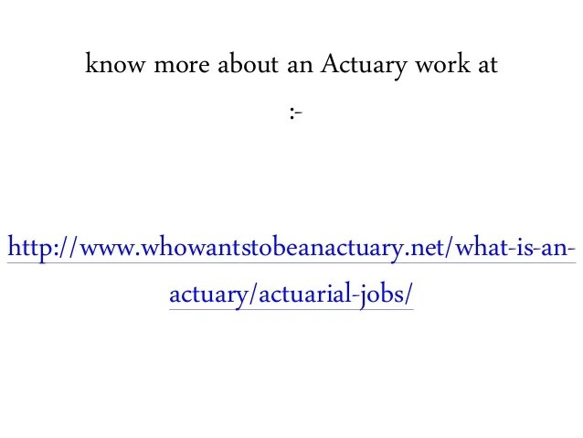 what is actuary - Funfpandroid