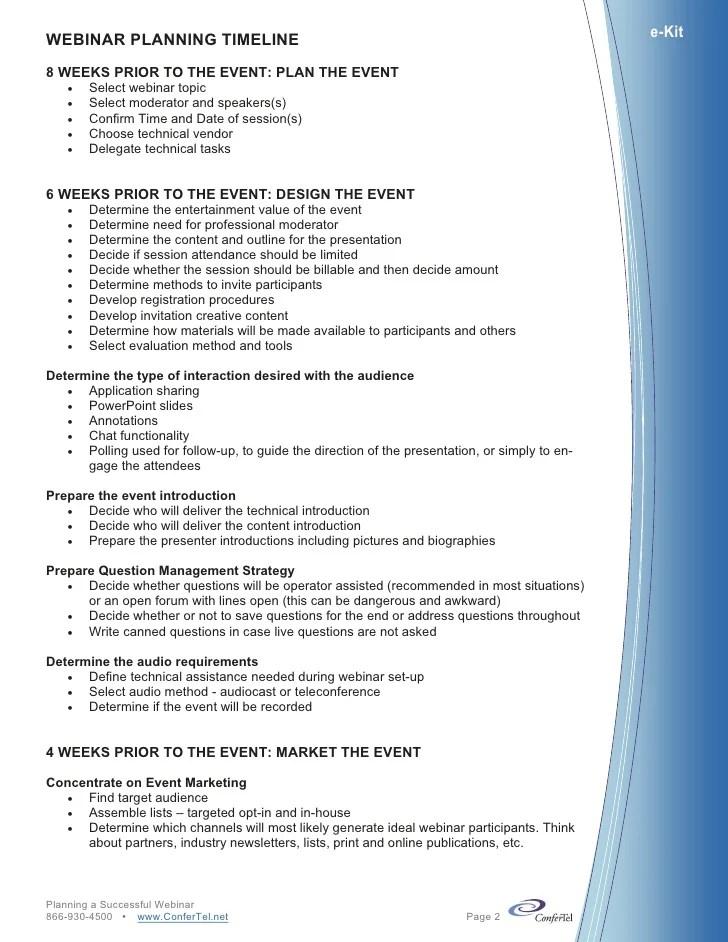party planner online checklist - Hacisaecsa