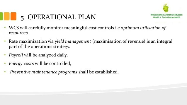 Operations Plan Template Images - Template Design Ideas - operational plan template