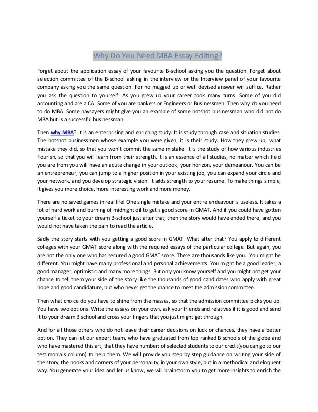 Essay topic on environment