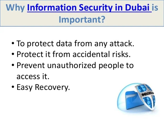 Why information security is important?