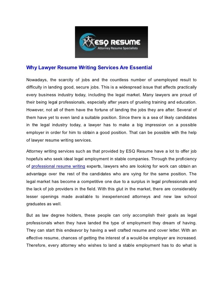 Professional cover letter writing service