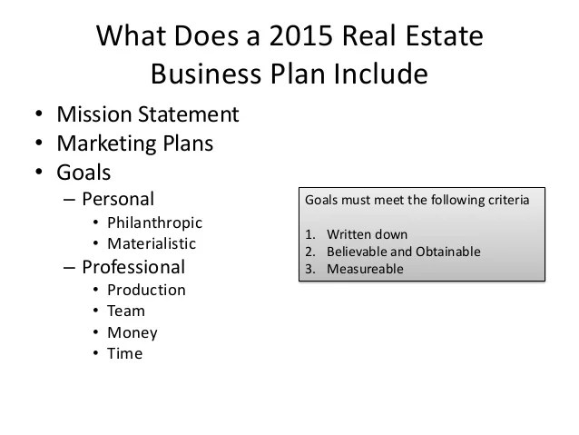 Free Real Estate Business Plans Bplans Why Real Estate Agents Need Business Plans 2015