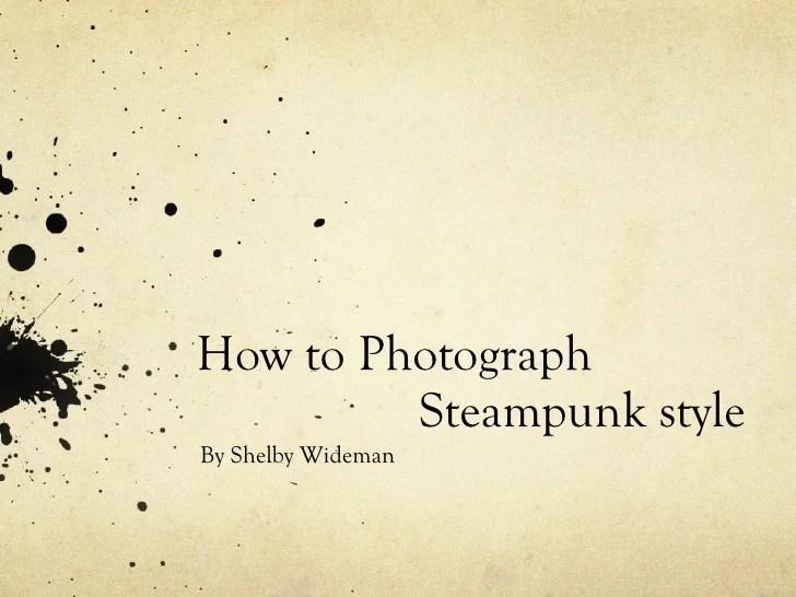 steampunk powerpoint template