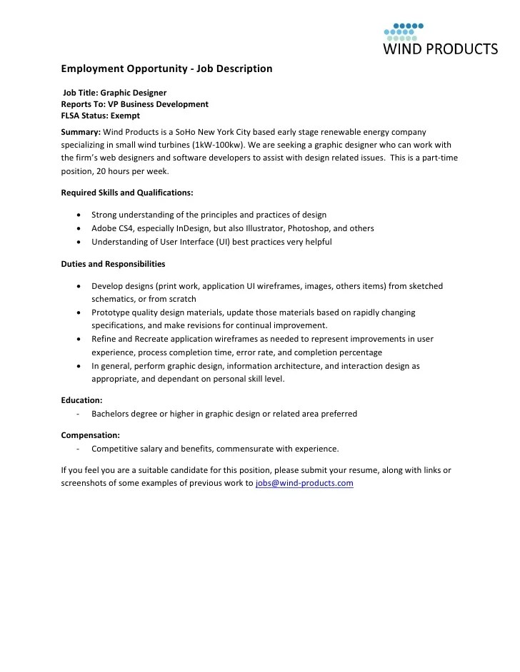 Job Description Vp Marketing  Job Application Form Templates