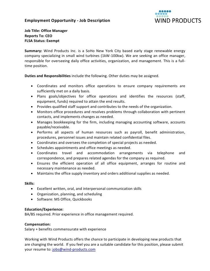 Job Description For Office Assistant  Legal Resume Design