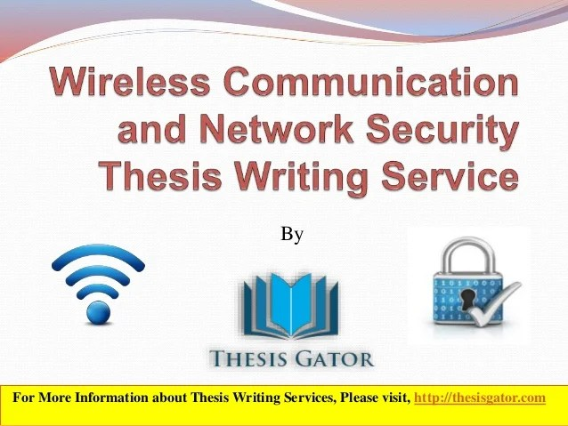 wireless network security essay