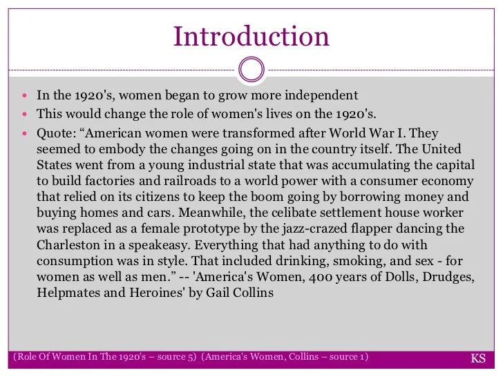 Women In The 1920s