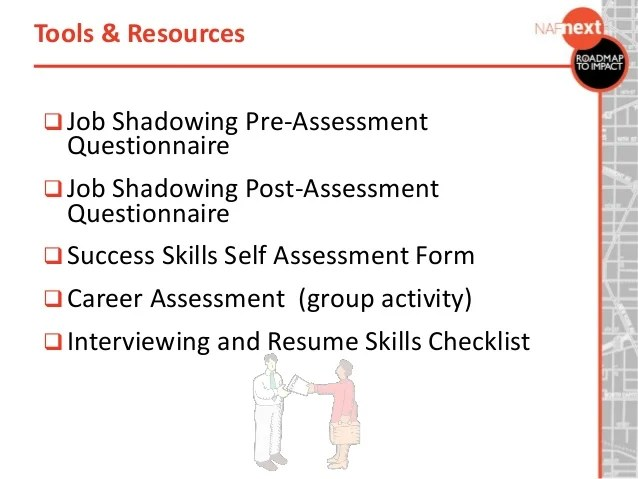 job shadowing resumes - Apmayssconstruction