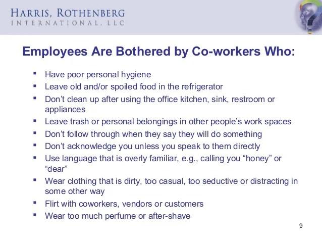 Workplace Etiquette Slides