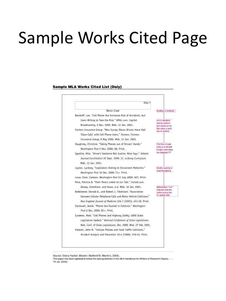 Mla format works cited generator Homework Writing Service