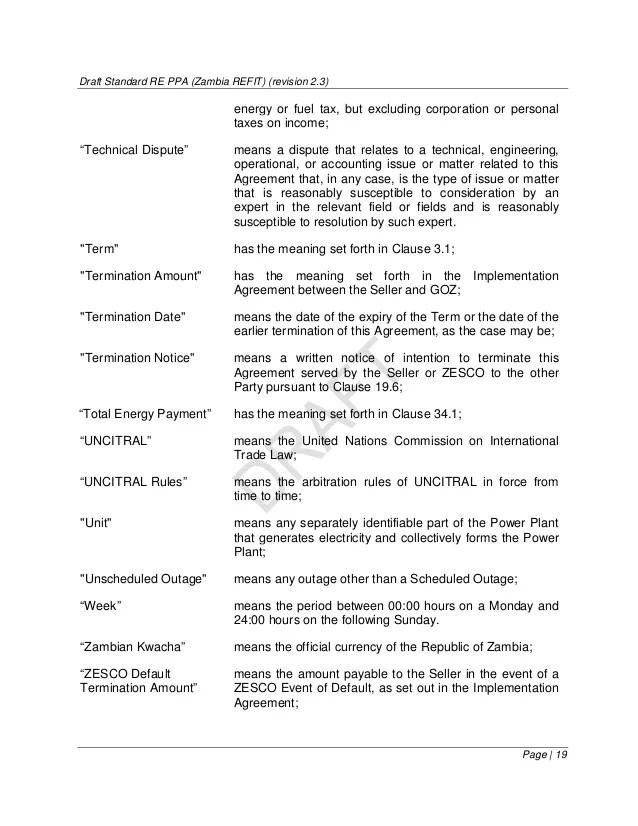 ppa contract sample - Apmayssconstruction