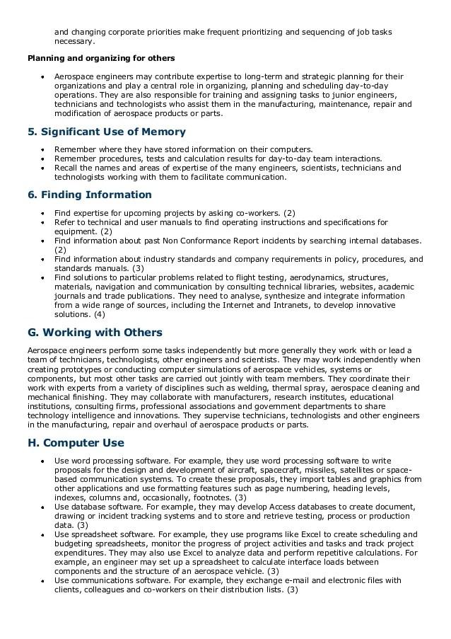 aerospace engineer resume - Alannoscrapleftbehind - nasa aerospace engineer sample resume