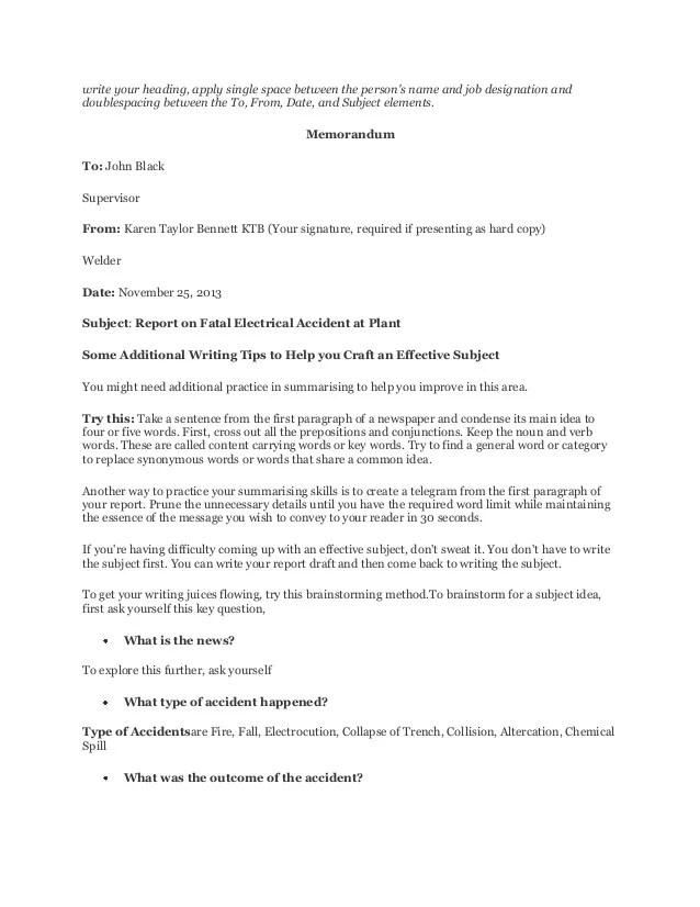 write an incident report - Solahub-rural