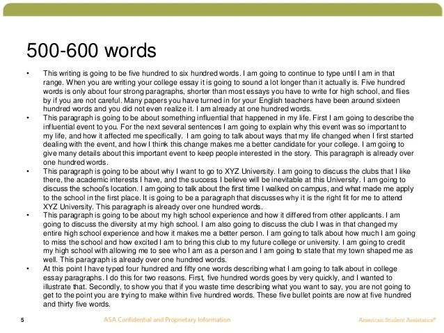 600 word essay