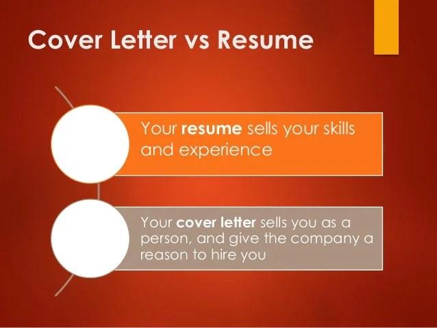 resume vs cover letters - Ozilalmanoof