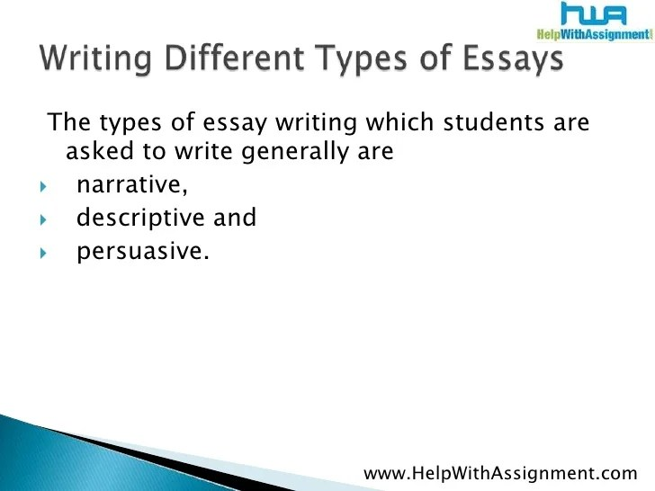 types essays types of essays co how to understand types of essays - Types Of Essay Writing Examples