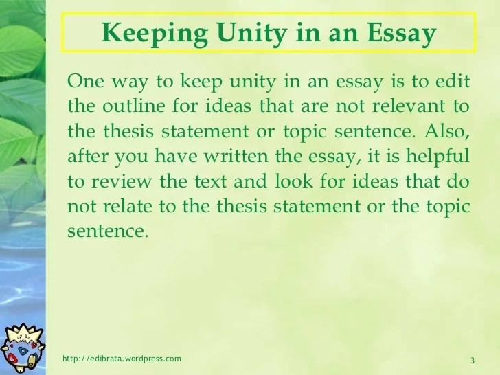 main argument in essay