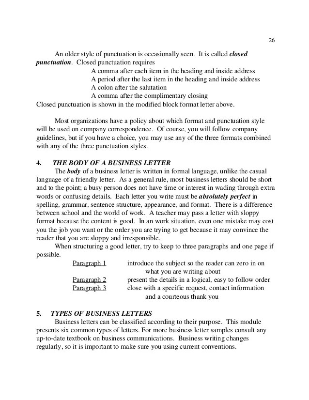 cover letter punctuation - Selol-ink