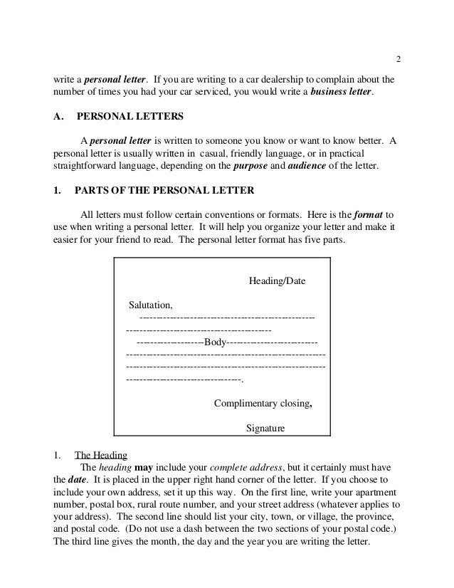 Business Writing Salutations In Letters And Email Writing Letters
