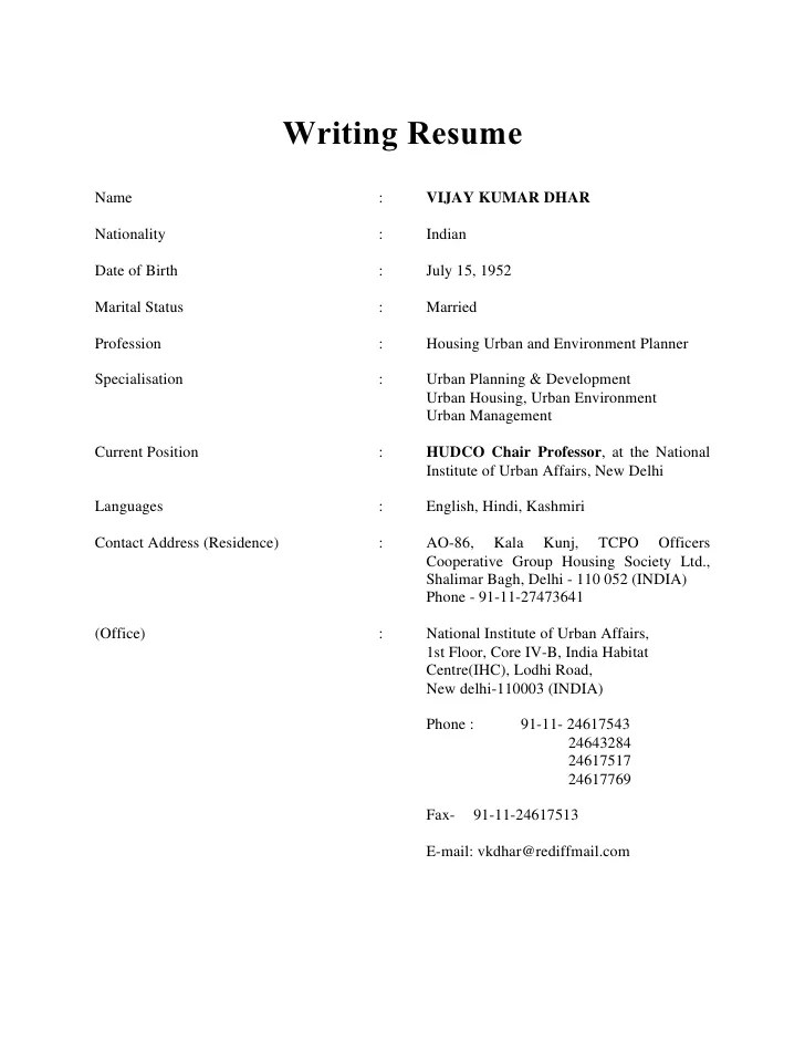 need to write a resume - Ozilalmanoof