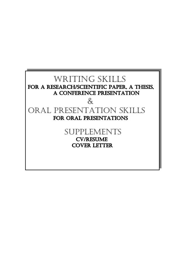presenting a resumes - Josemulinohouse - resume presentation skills