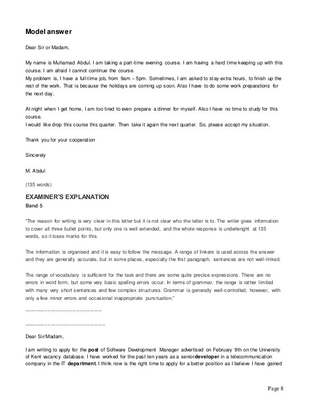 Dear Sirmadam How To Write A Winning Cover Letter Writing Task 1