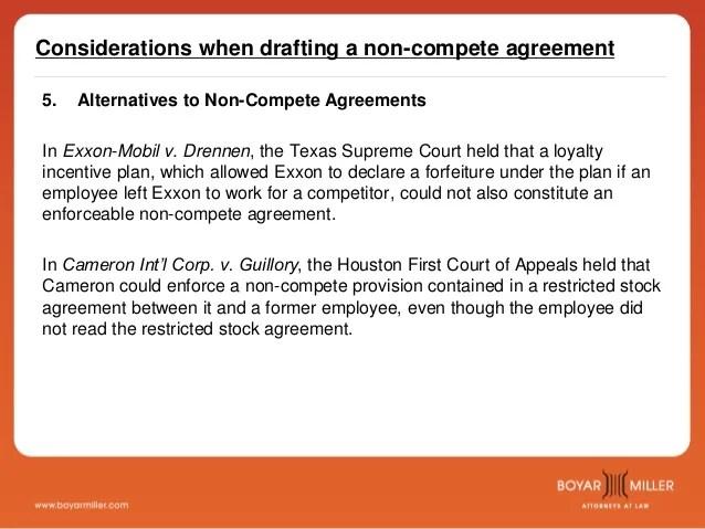 non compete agreement - Romeolandinez