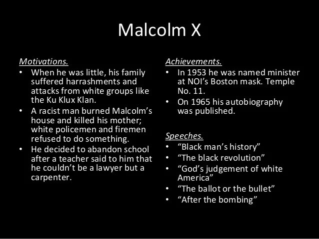 martin luther king jr and malcolm x venn diagram