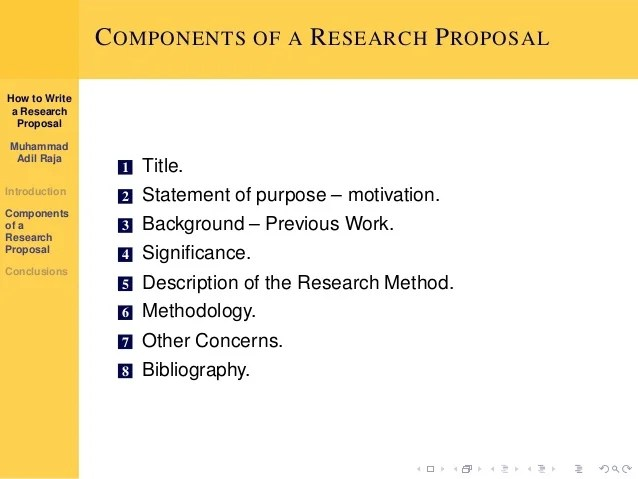 Research Proposal Format Introduction Background The How To Write A Research Proposal