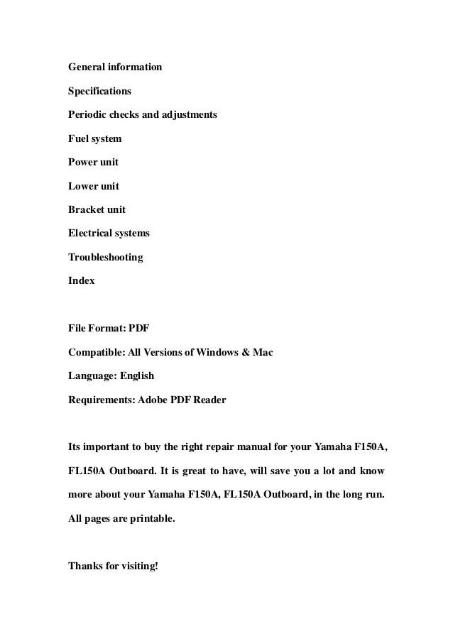 1995 yamaha c75 hp outboard service repair manual