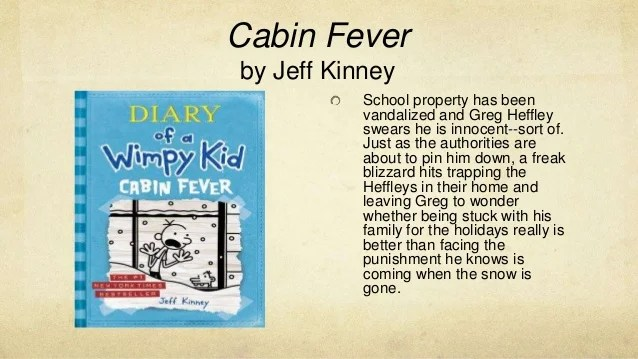Diary Of A Wimpy Kid Cabin Fever Study Guide Kids