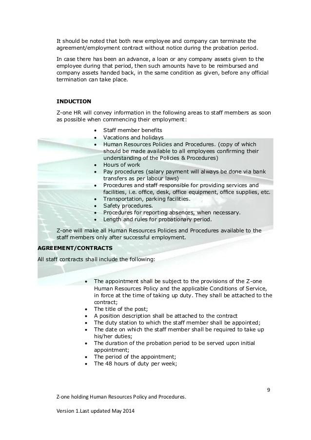 sample hr policies in india - Onwebioinnovate