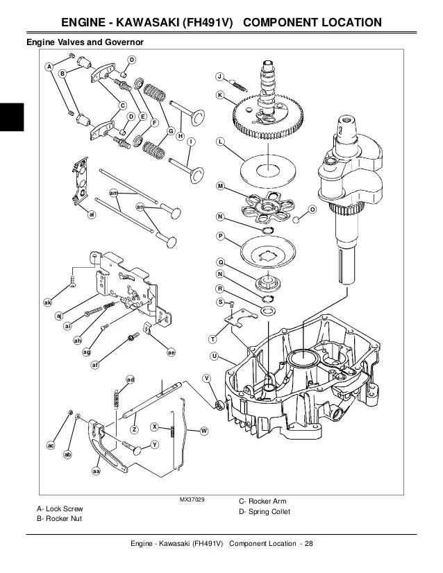 john deere lawn tractor engine repair