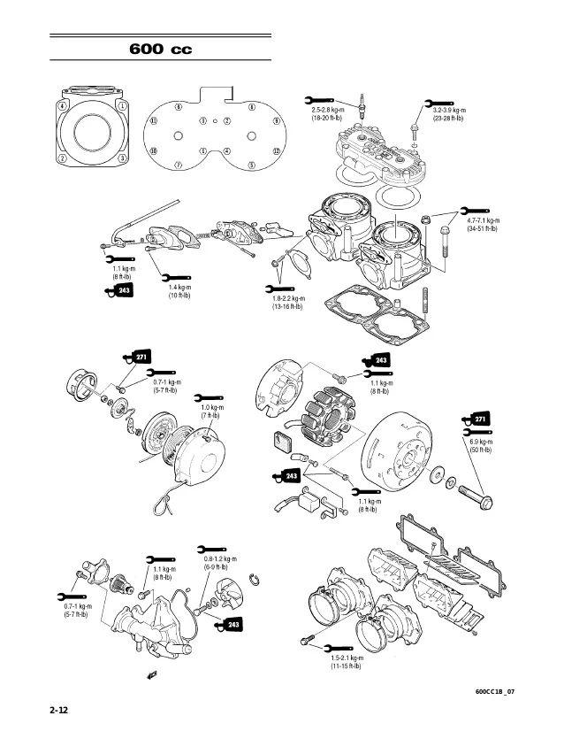 arctic cat snowmobile 4 stroke wiring diagrams
