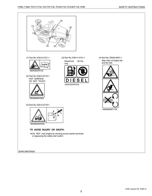 kubota f2880 wiring diagram