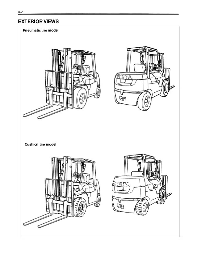 toyota forklift maintenance wiring diagram