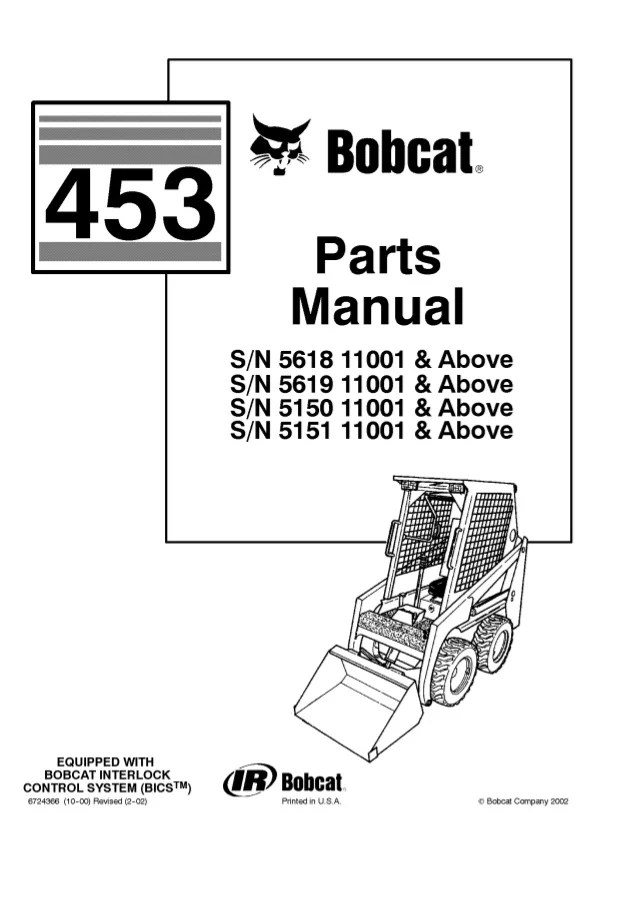 bobcat skid steer wiring diagram 1984 bobcat 743 lights wiring diagram