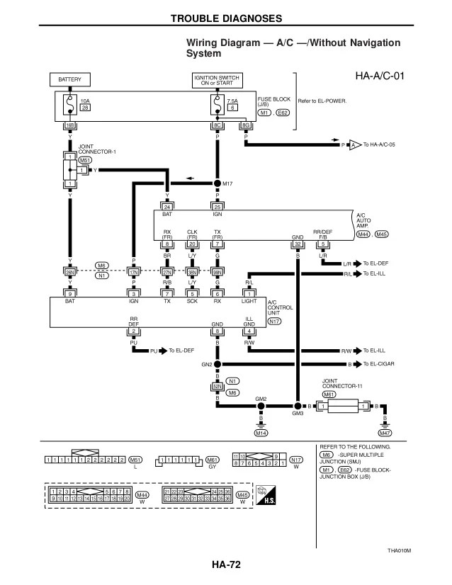 1998 infiniti q45 fuse box diagram