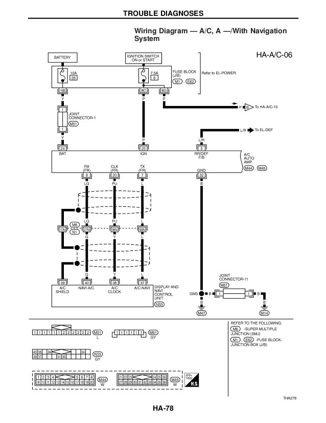 wiring diagrams for 2001 infiniti i30