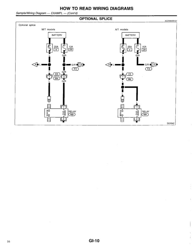 Admirable 1999 Infiniti G20 Wiring Diagram Today Diagram Data Schema Wiring 101 Ivorowellnesstrialsorg
