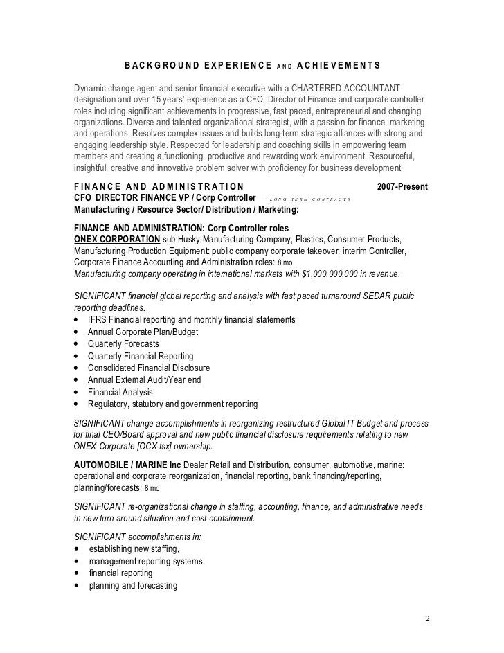 resume summary for diverse background