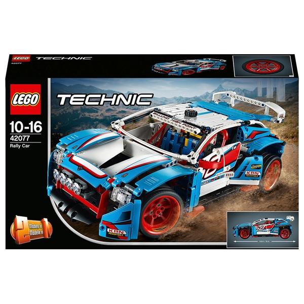 LEGO 42077 Technic Rally Car  Buggy Toy Racing Building Set - LEGO