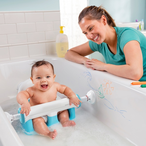 Summer Infant My Bath Seat Baby Baths Uk - Newborn Baby Bath Seat